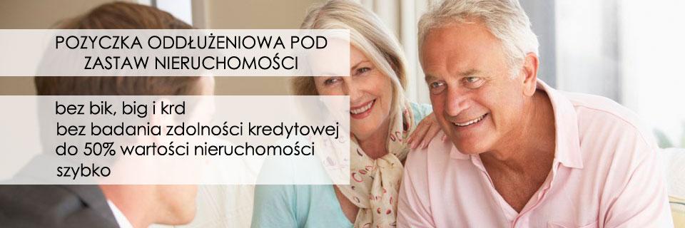 Pożyczki zabezpieczone hipotecznie bez BIK w Warszawie